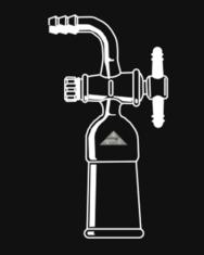 Flow Control, Teflon Stopcock, 90°